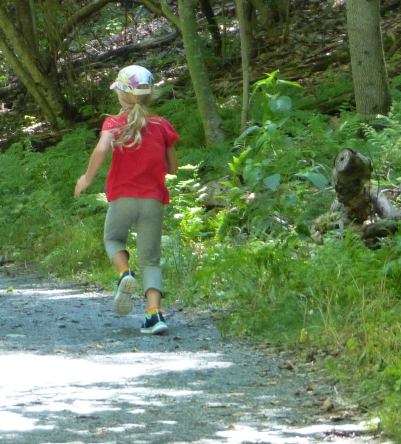 Limberlost is a level trail that's easy for young hikers.