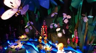 Inside the Flying Trunk dark ride