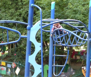 "This Stockholm playground raised the ""monkey"" bar."