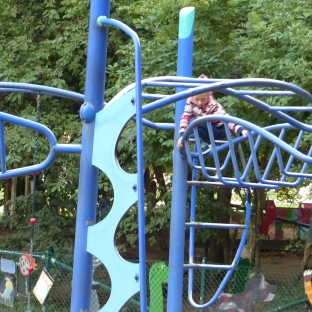 "This Stockholm playground raised the ""monkey"" bar."