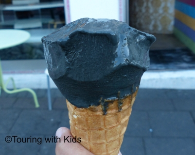 licorice ice cream