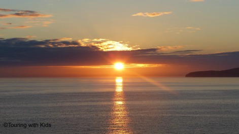 azores sunrise