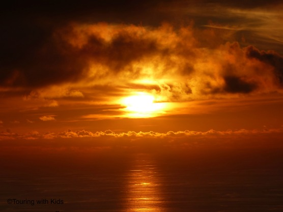azores sunset 1